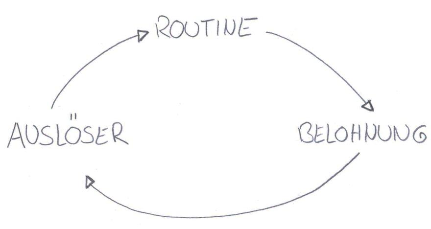 Macht der Gewohnheit - Gewohnheitsschleife