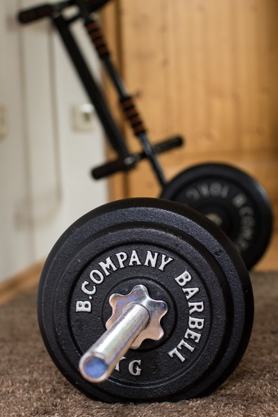 Muskelmasse aufbauen - Ernährung - Hantelset