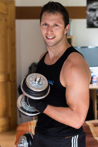 Muskelmasse aufbauen - Ernährung - Training