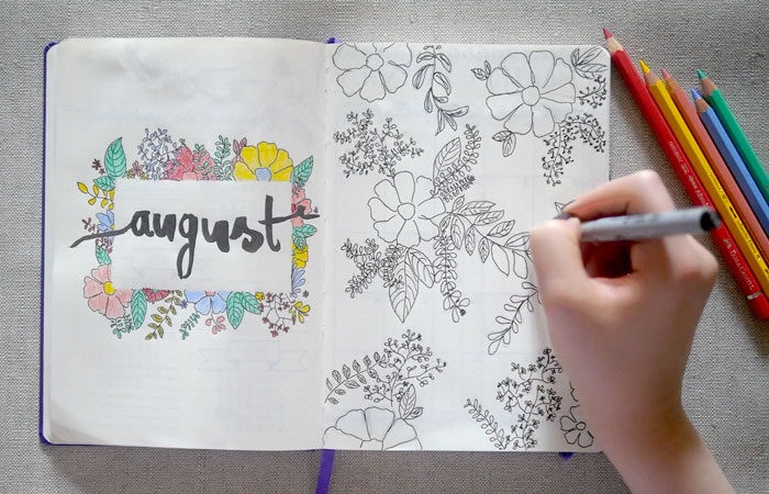 Bullet Journal Experiment Kreativ