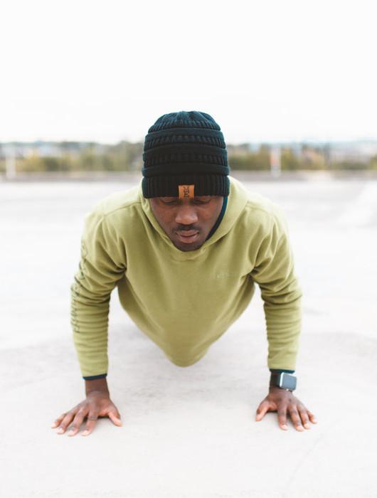 Stress Schnelle Entspannungsmethoden Liegestütze